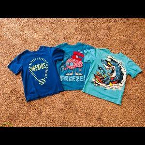 Children's Place boys 3 shirt lot